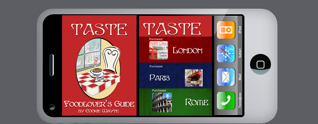 Then our TASTE Foodlover's Guide App is for you. Get the free App today.